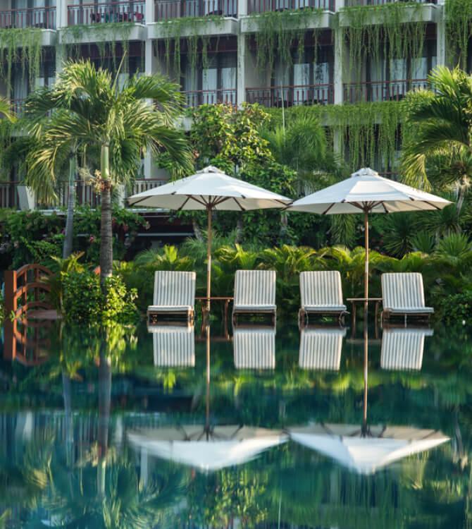 Silk Sense Hoi An Resort river view